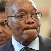 PRETORIA, SOUTH AFRICA – MARCH 17: President Jacob Zuma during the official launch of the Invest South Africa One Stop Shop (InvestSA OSS) at the DTI campus on March 17, 2017 in Pretoria, South Africa. The initiative is part of the government's drive to improve the business environment by lowering the cost of doing business as well as making the process easier. (Photo by Gallo Images / Alet Pretorius)