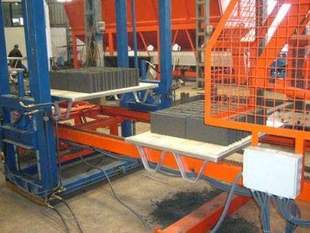 Automated-Brick-Tile-Making Machine