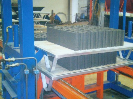 Automated-Brick-Tile-Making Machine