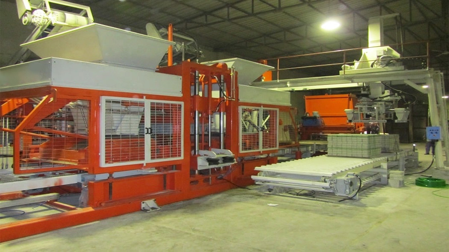 MG 10.2 Semi-Automated Brick-Tile Making Machine