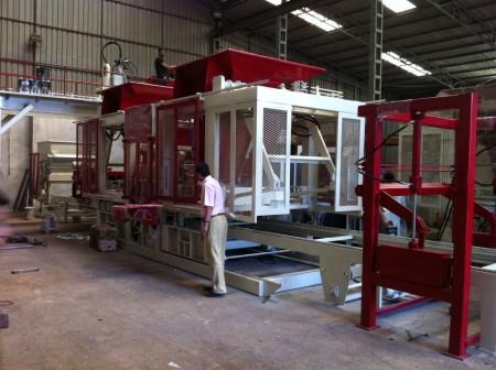 Automatic Block Making Machine-
