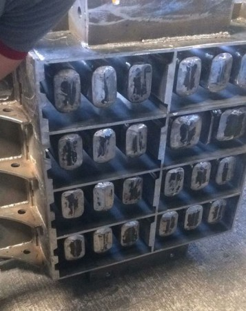hollow brick molds