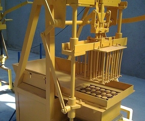 Manual-Brick Molder-