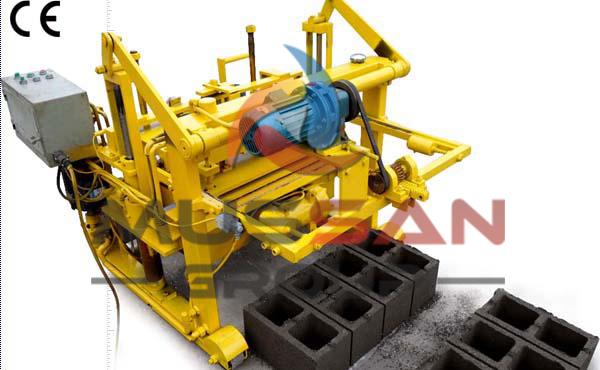 Cement Bricks Machine - concrete brick making machine - brick machines from Turkey