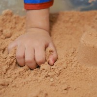 Sand for concrete brick manufacturing