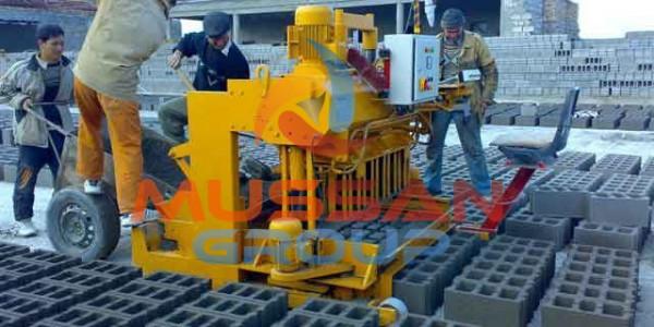 layer cement block making machine