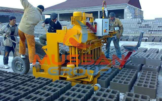 layer cement block making machine