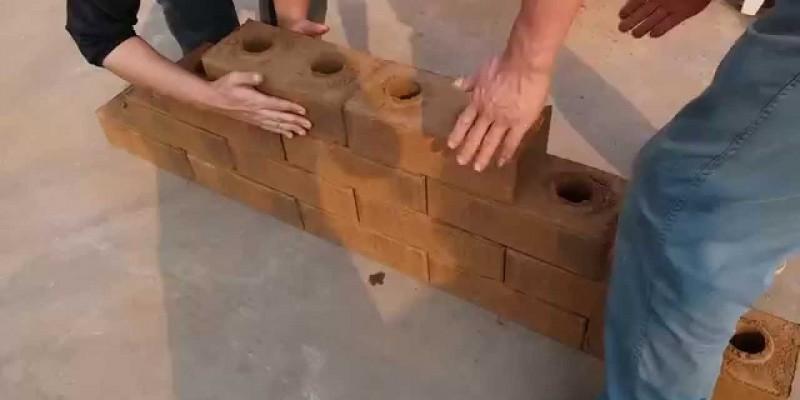 Lego Brick from clay