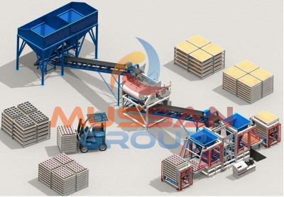 briket machine- cement bricks making machine