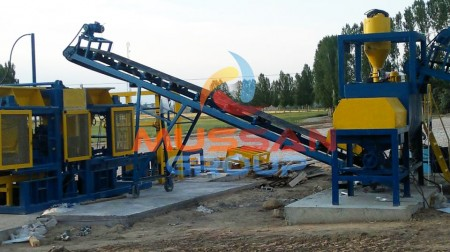 fly ash bricks machine - concrete block making machine, cement block manufacturing-min
