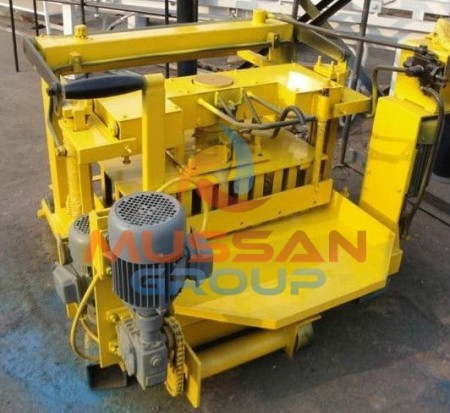 laying concrete block making machine-min