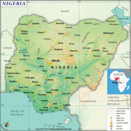 map-of-nigeria